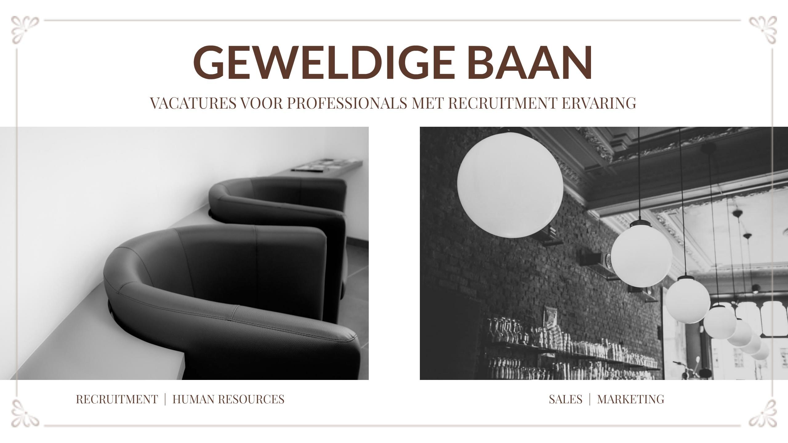 Vacaturevlog: Geweldigebaan.nl